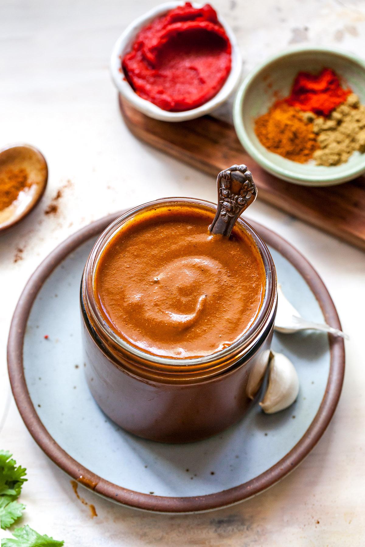 Homemade Enchilada Sauce {Easy} - Two Peas & Their Pod