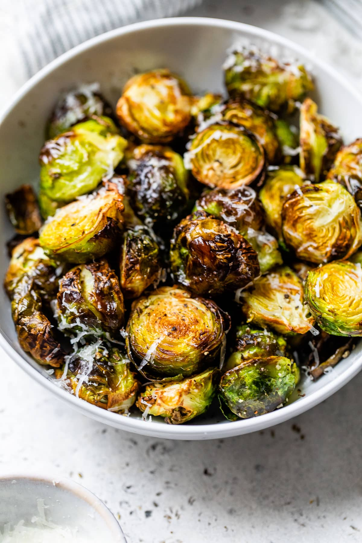 Air Fryer Brussels Sprouts {Fast & Crispy!}  WellPlated.com