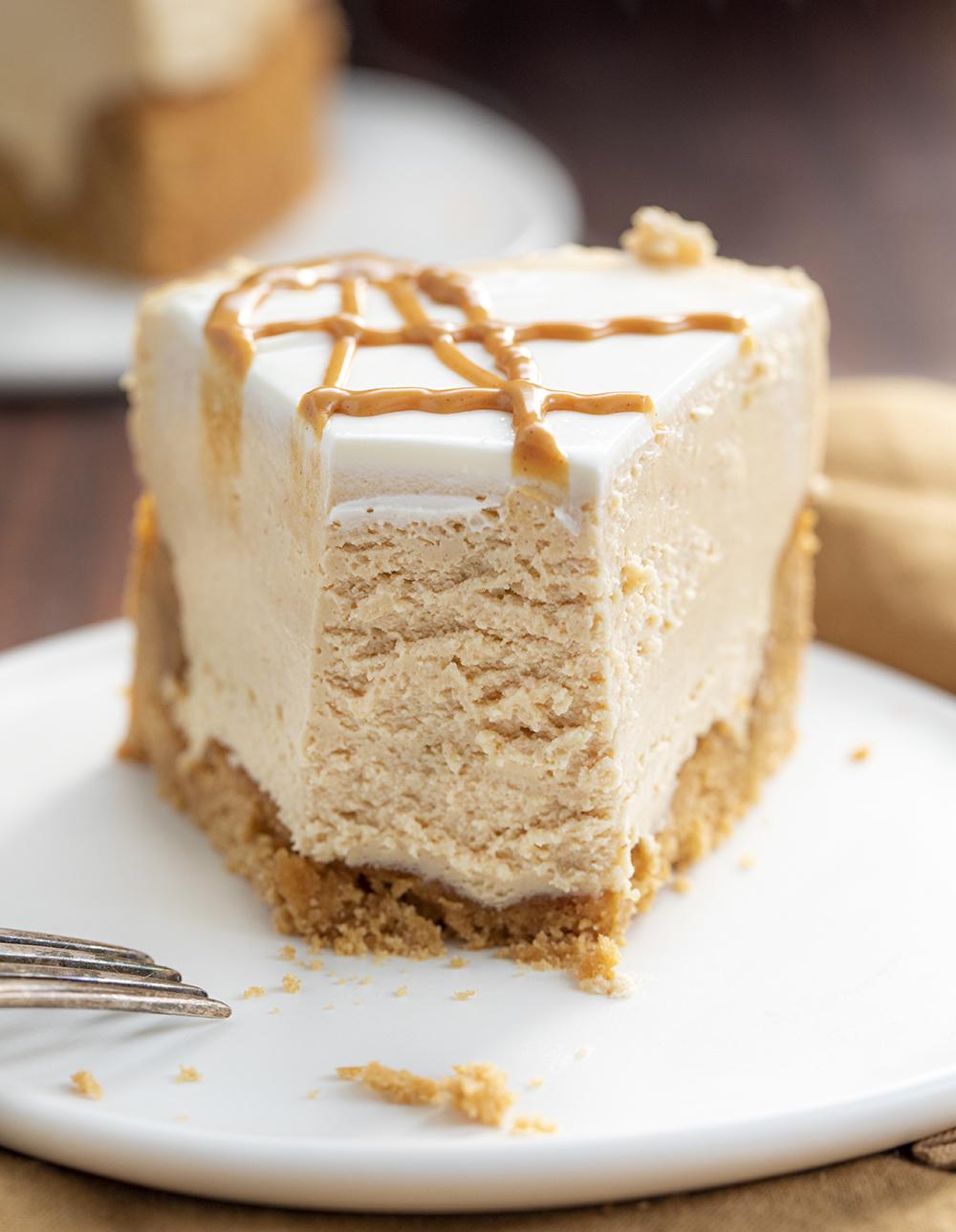 Peanut Butter Cheesecake | i am baker