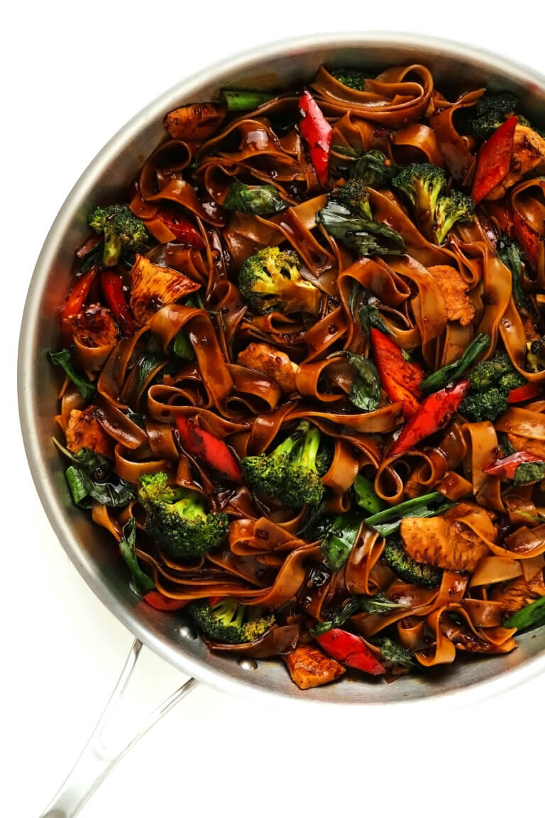 Thai Drunken Noodles (Pad Kee Mao) Recipe   Gimme Some Oven
