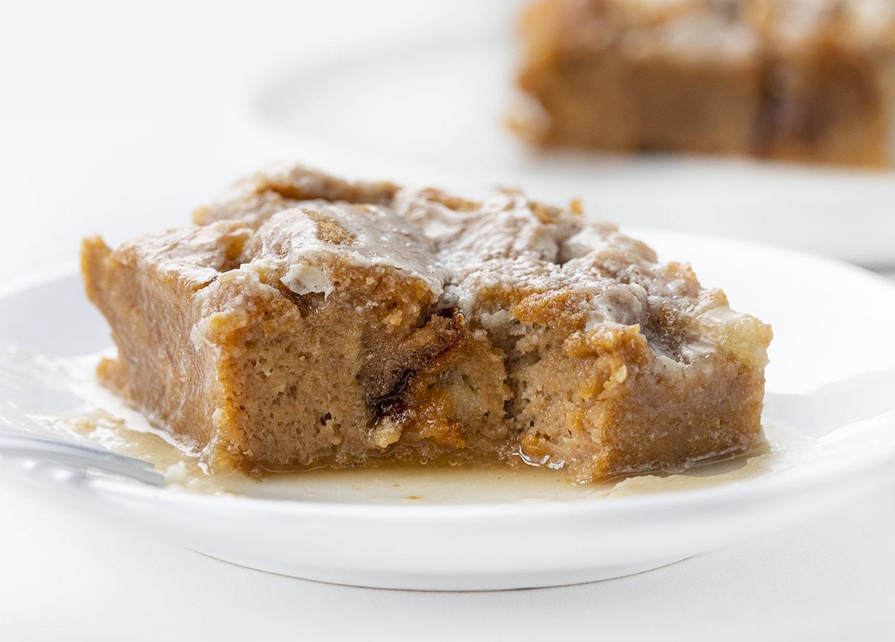 Chocolate Caramel Bread Pudding | i am baker