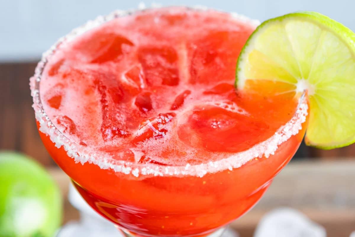 Strawberry Margarita | Culinary Hill