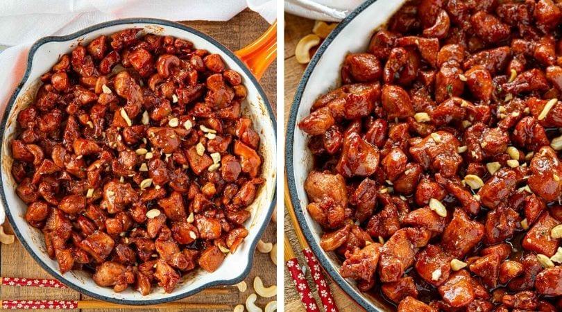 Cashew Chicken Recipe - Dinner, then Dessert