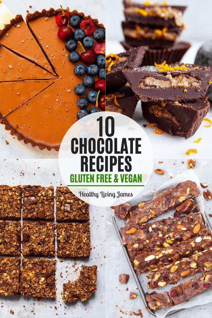 10 Chocolate Recipes (Gluten-Free & Vegan) - Healthy Free-From Dessert