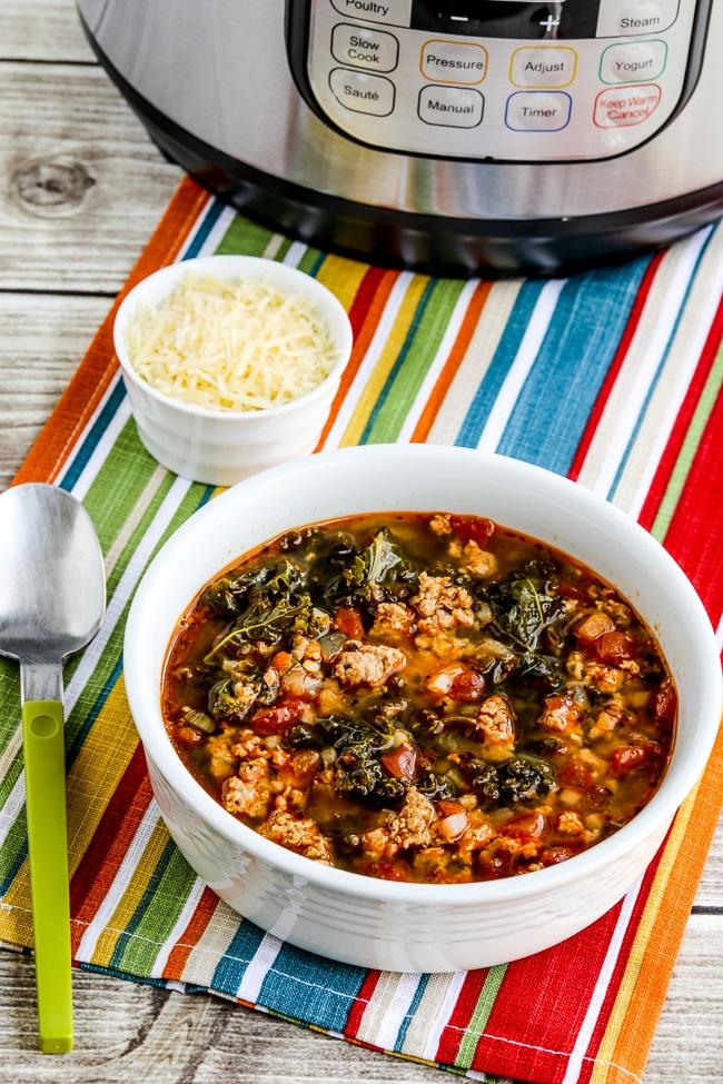 Instant Pot Sausage and Kale Soup  Kalyn